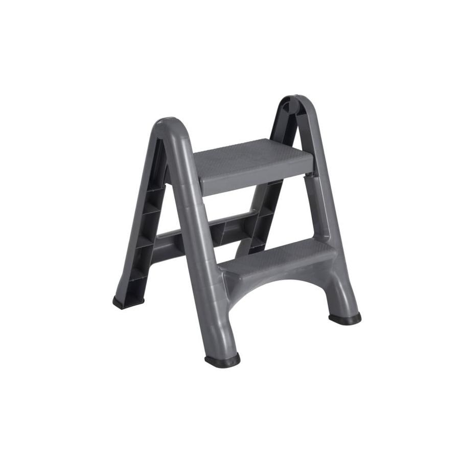 Rubbermaid Commercial Products 2-Step Plastic Step Stool  sc 1 st  Lowe\u0027s & Shop Rubbermaid Commercial Products 2-Step Plastic Step Stool at ... islam-shia.org