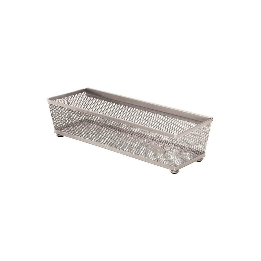 Rubbermaid 9-in x 3-in Metal Multi-Use Insert Drawer Organizer