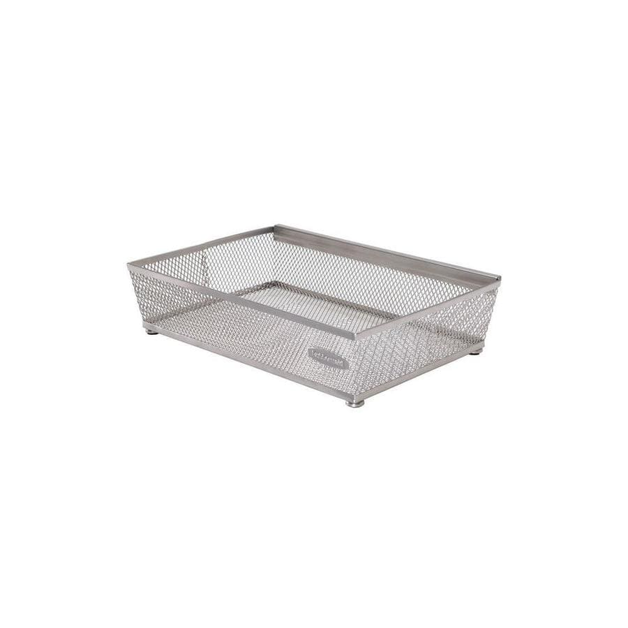 Rubbermaid 9-in x 6-in Metal Multi-Use Insert Drawer Organizer