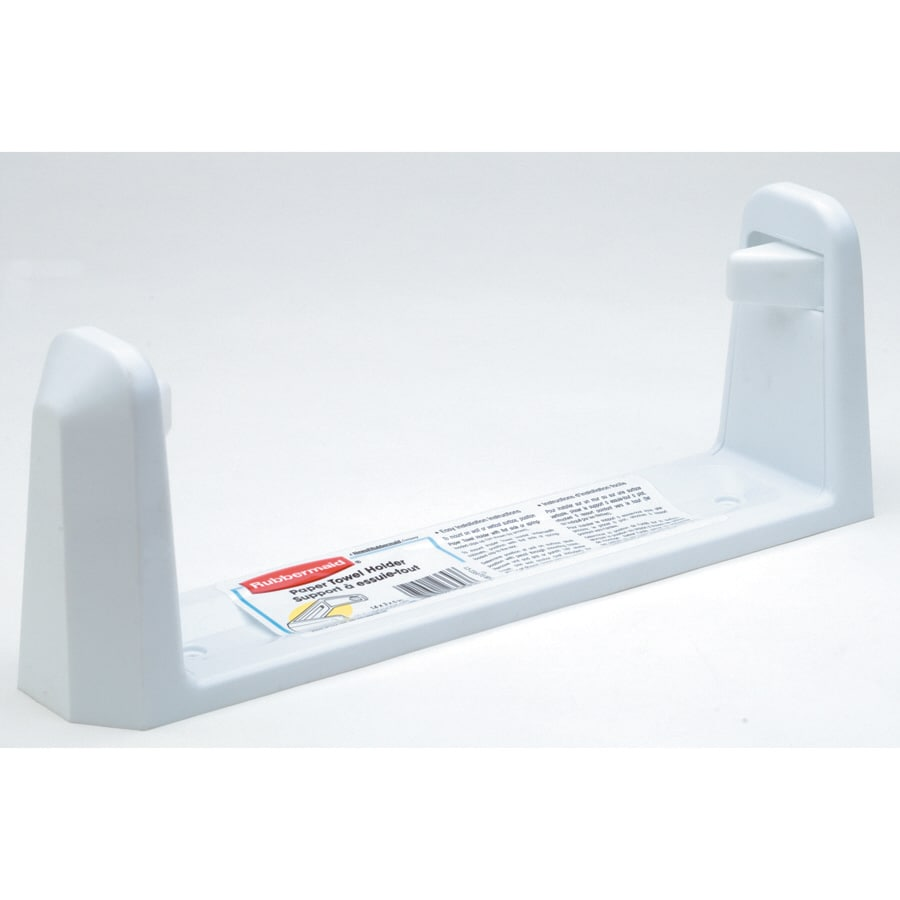 Rubbermaid White Plastic Mounted Paper Towel Holder