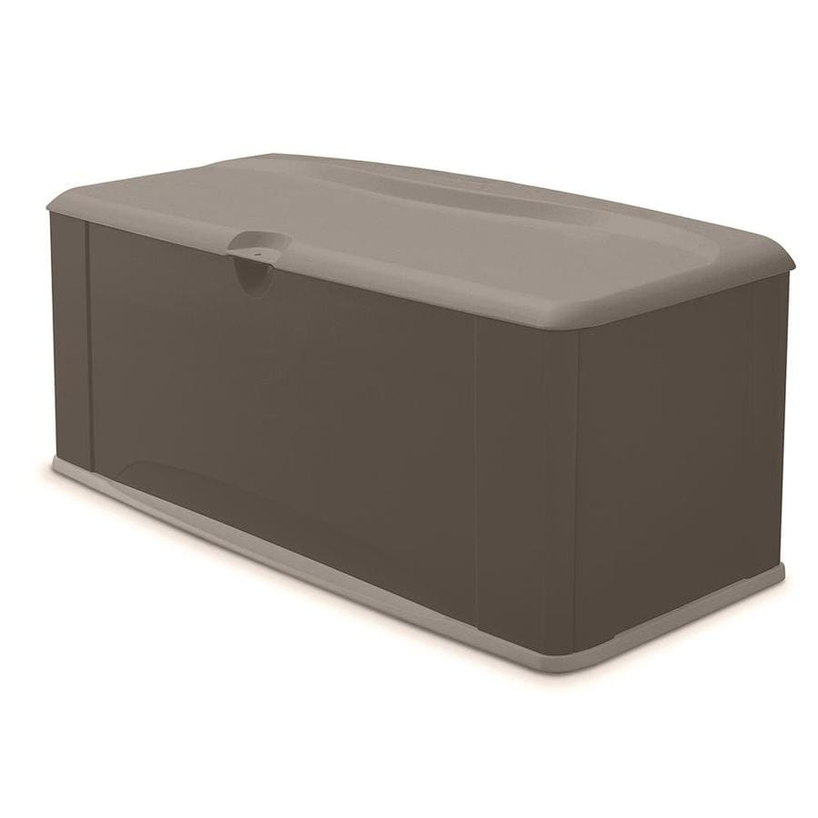 Charmant Rubbermaid 26 In L X 60 In W 120 Gallon Olive/Sandstone