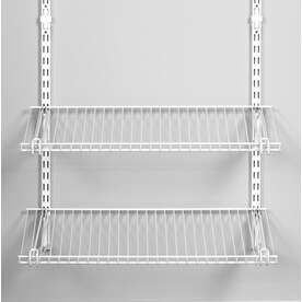 Shop Adjustable Mount Wire Shelving Kits At Lowes Com