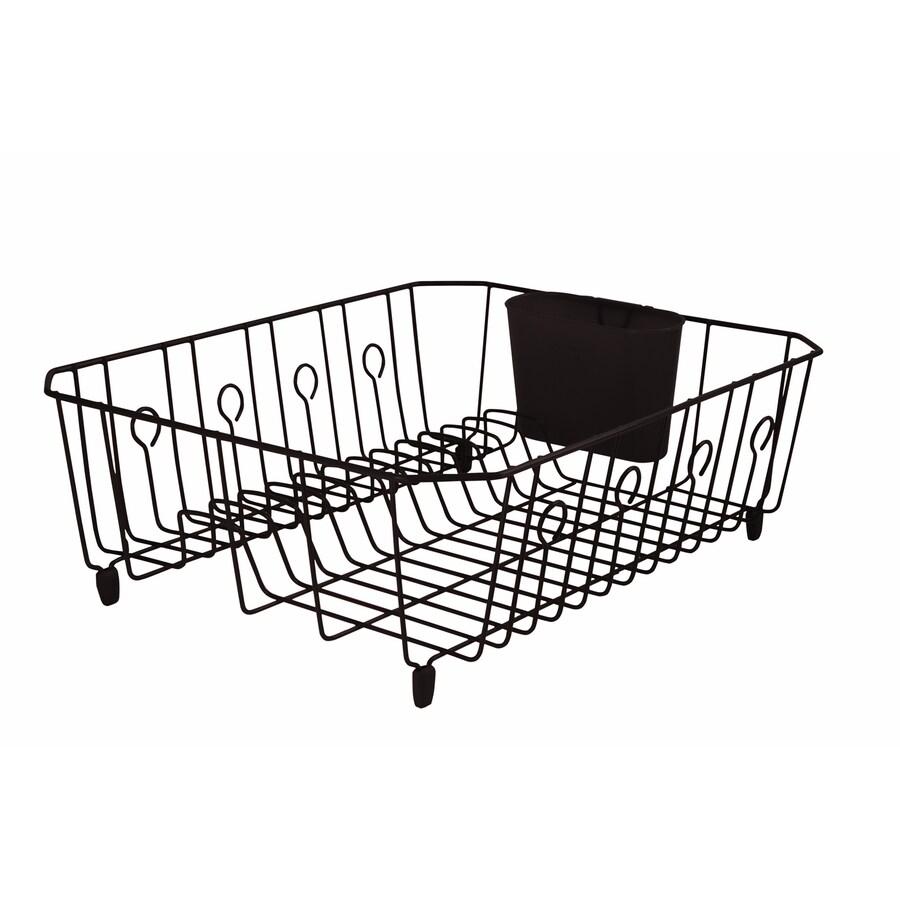 Shop Rubbermaid 13-4/5-in W x 17-5/8-in L x 5-7/8-in H Coated Wire ...