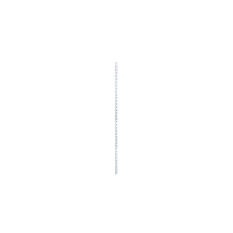 Rubbermaid HomeFree series White Shelving Upright (Common: 0.875-in x 47.5-in x 1-in; Actual: 0.875-in x 47.5-in x 1-in)