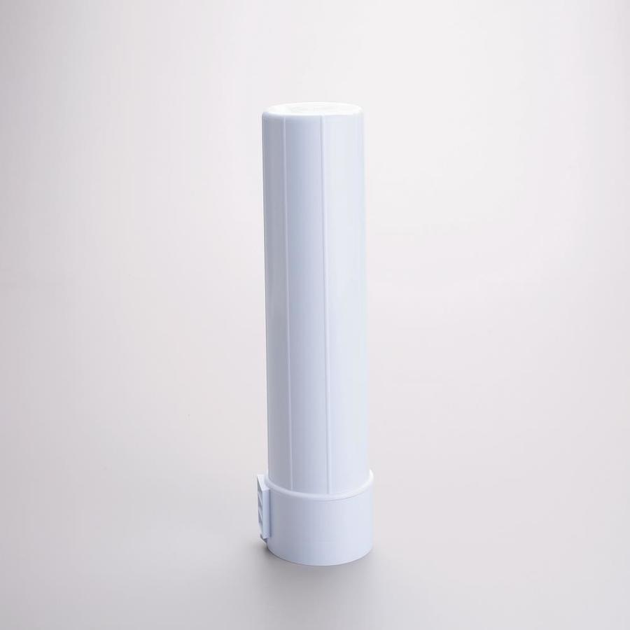 Rubbermaid White Plastic Cup Dispenser