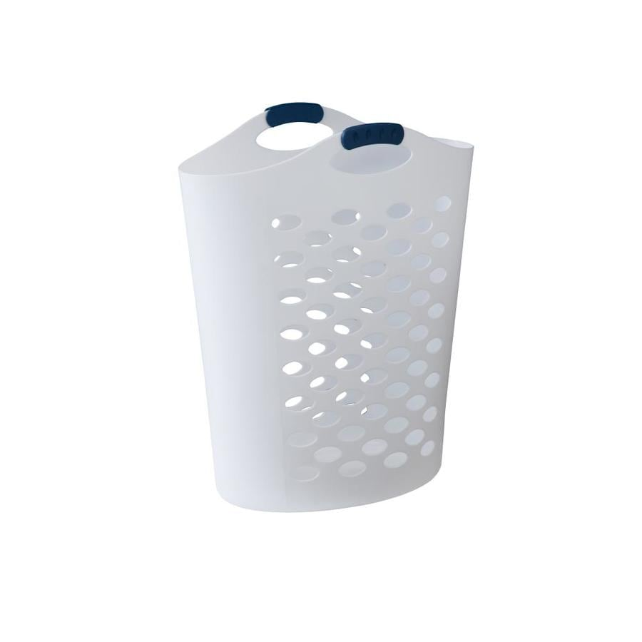 Rubbermaid 2 2 Bushel Plastic Laundry Hamper In The Laundry Hampers Baskets Department At Lowes Com