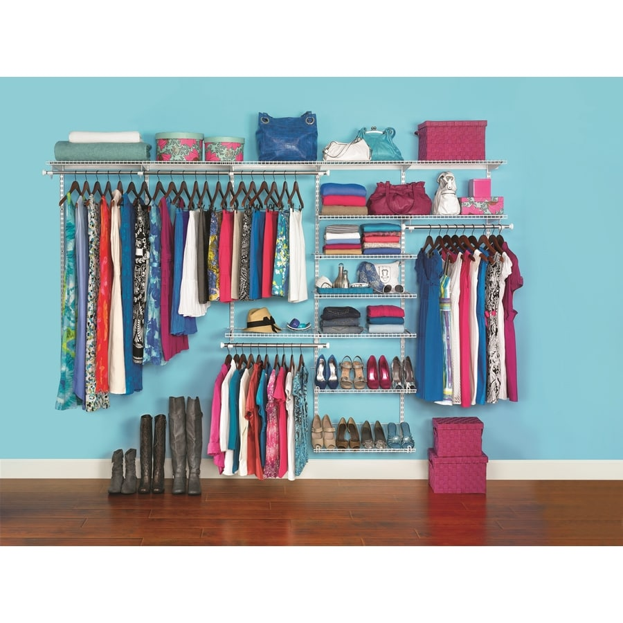 Lowes Closet Anizer Rubbermaid