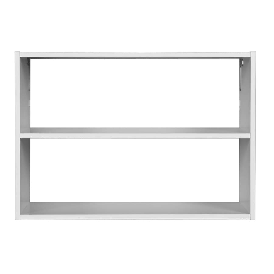 Rubbermaid HomeFree Series White Wood 3-Shelf Unit