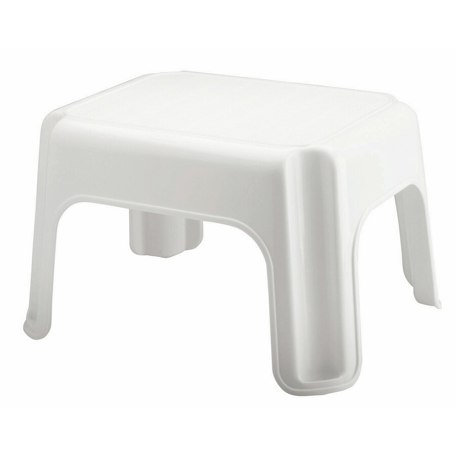 Rubbermaid 1 Step 300 Lbs Capacity White Plastic Step