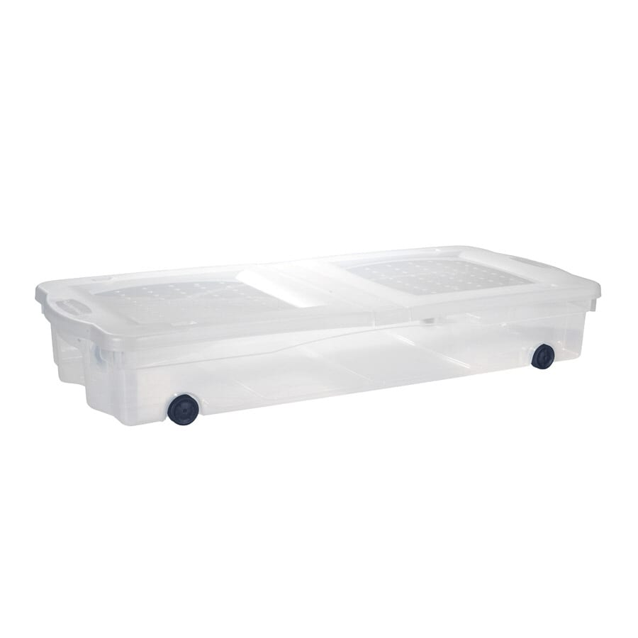 Rubbermaid Slimfit Wheeled Underbed Box