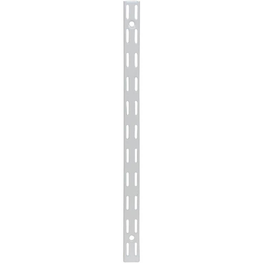 Rubbermaid FastTrack White Shelving Upright (Common: 0.875-in x 13.75-in x 1-in; Actual: 0.875-in x 13.75-in x 1-in)