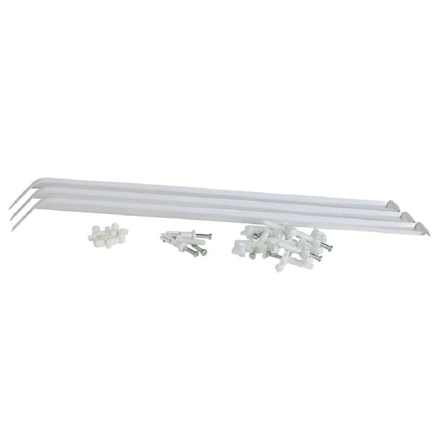 Rubbermaid Fixed Mount Hardware Kit At Lowes Com