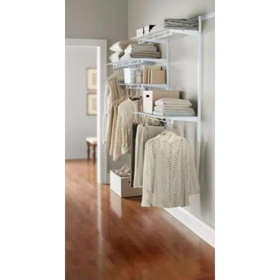 Adorable Rubbermaid Closet Anizer Hardware Anization F New Closetmaid Kits Lowes Full Size