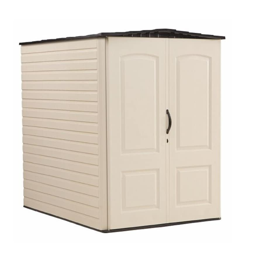 Rubbermaid Storage Shed (Common 5-ft x 6-ft; Actual Interior  sc 1 st  Loweu0027s & Shop Rubbermaid Storage Shed (Common: 5-ft x 6-ft; Actual Interior ...