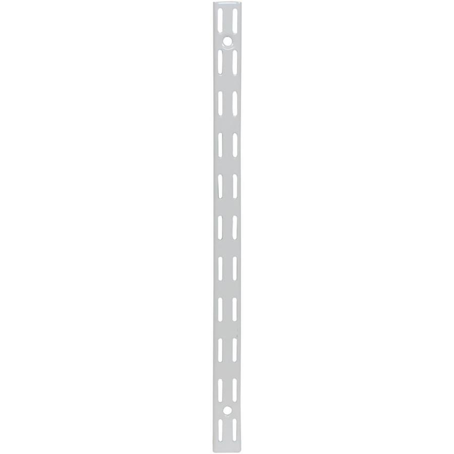 Rubbermaid HomeFree White Shelving Upright (Common: 0.875-in x 47.5-in x 1-in; Actual: 0.875-in x 47.5-in x 1-in)