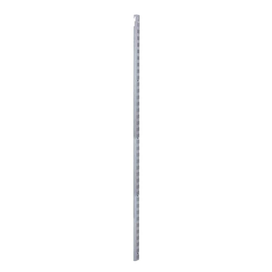 Rubbermaid HomeFree Satin Nickel Shelving Upright (Common: 0.875-in x 47.5-in x 1-in; Actual: 0.875-in x 47.5-in x 1-in)