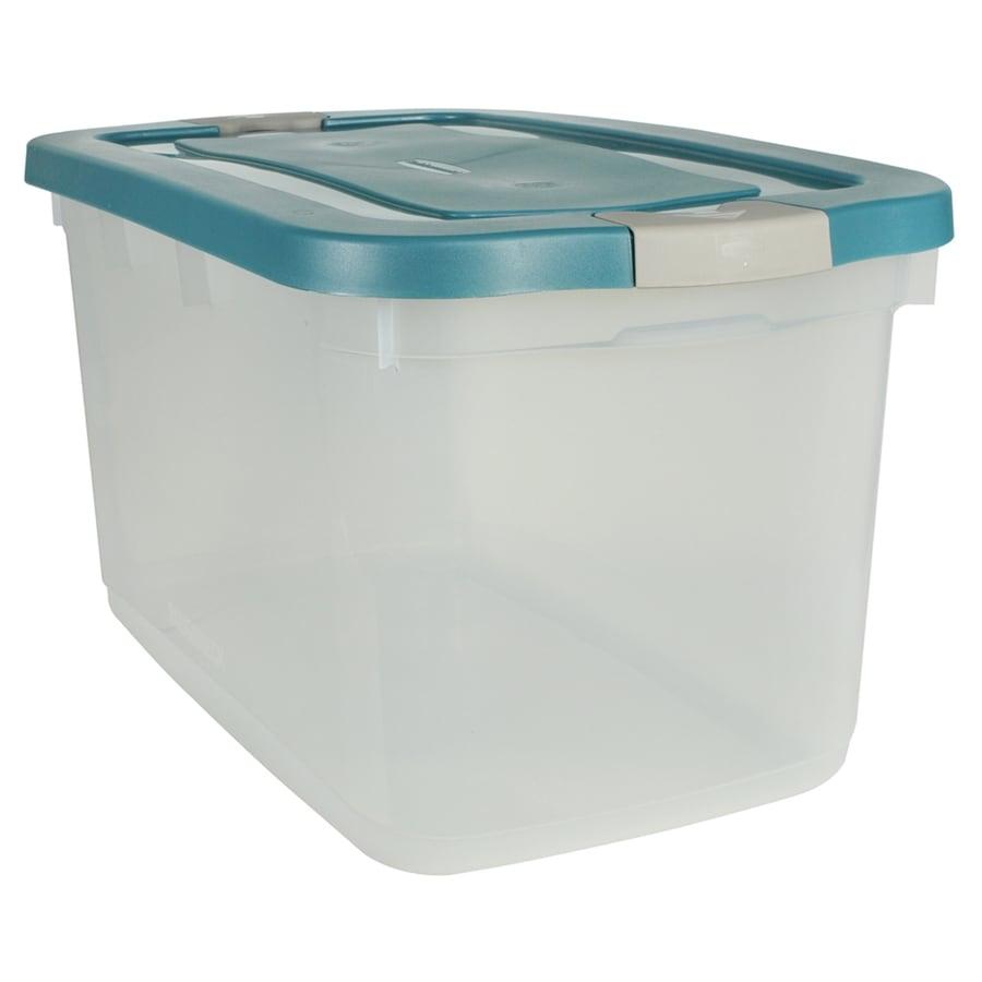 Rubbermaid 31-Quart Plastic Storage Container At Lowes.com