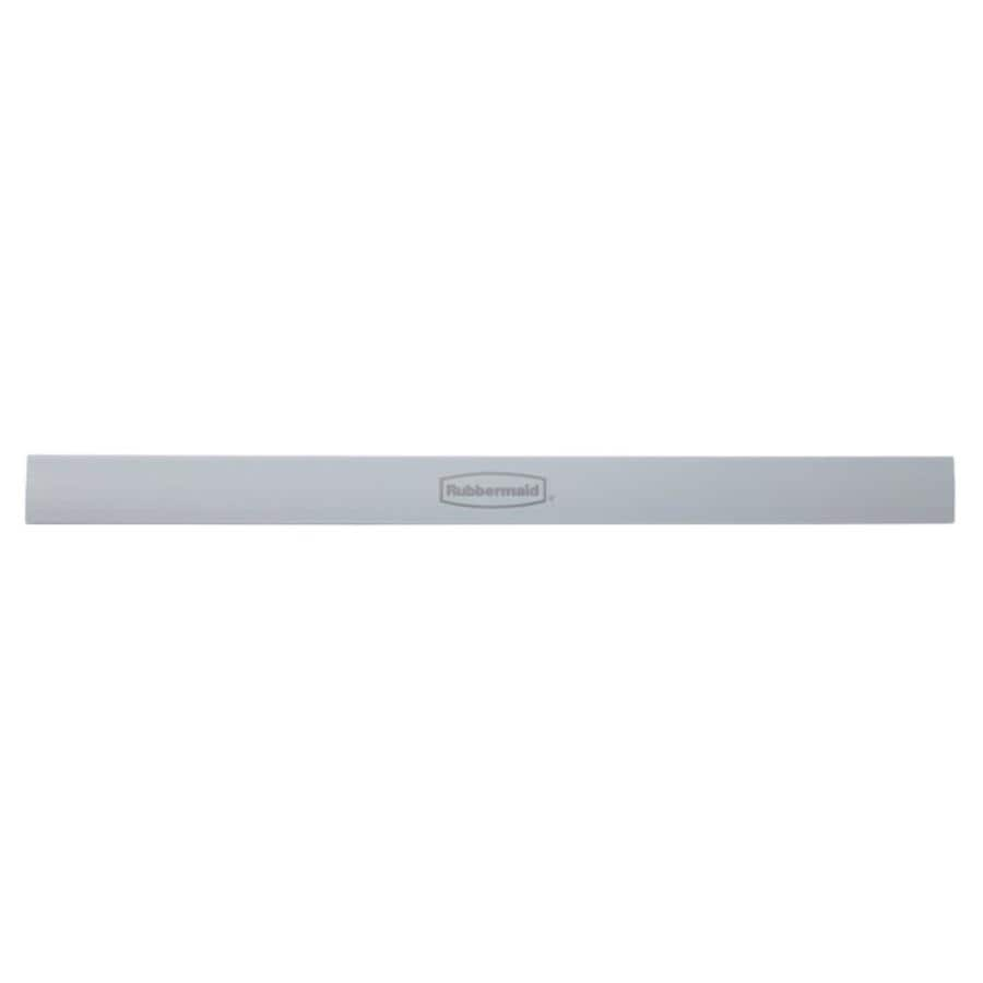 Rubbermaid HomeFree Series Satin Nickel Rail Cover (Common: 22-in x 1.5-in x 0.5-in; Actual: 22-in x 1.5-in x 0.5-in)
