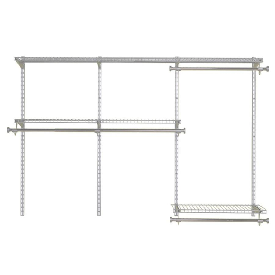 Shop Rubbermaid Homefree Series 6-ft Adjustable Mount Wire Shelving ...