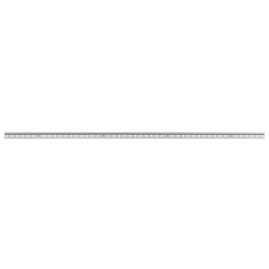 Rubbermaid HomeFree Series Satin Nickel Rail (Common: 48-in x 1.25-in x 0.2-in; Actual: 48-in x 1.25-in x 0.2-in)