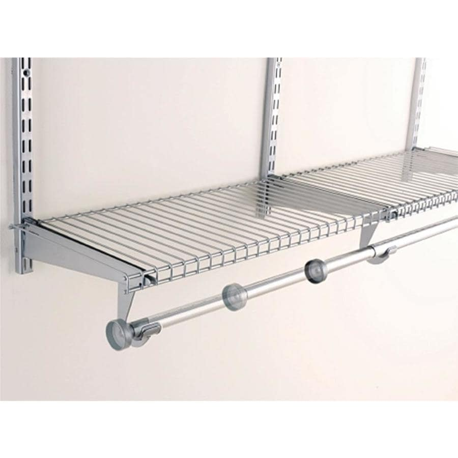 Rubbermaid Homefree 4 Ft Adjustable Mount Wire Shelving Kits