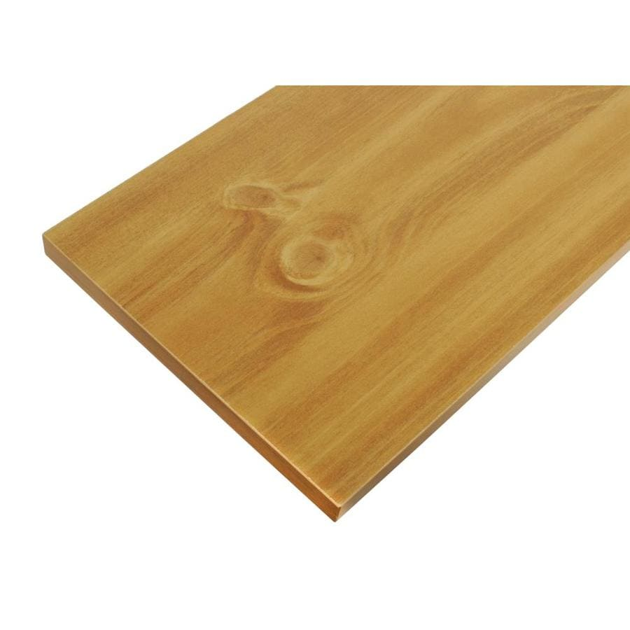 Blue Hawk Laminate 0.625-in D x 23.8-in L x 11.8-in W Natural Shelf Board