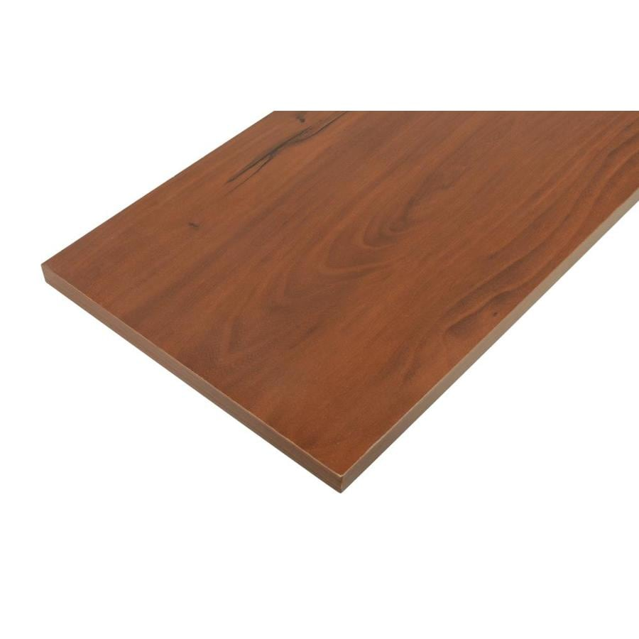 Rubbermaid Laminate 0.625-in D x 71.8-in L x 11.8-in W Cherry Shelf Board