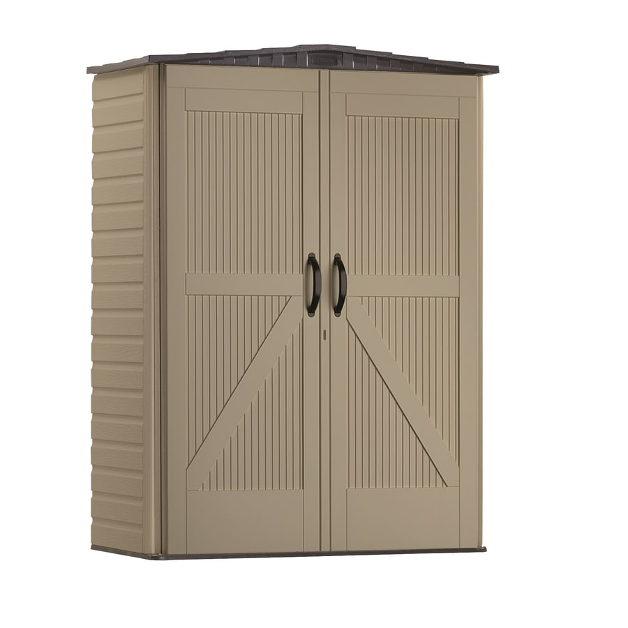 Rubbermaid Roughneck Storage Shed (Common: 5-ft x 2-ft; Actual Interior Dimensions: 4.33-ft x 2-ft)