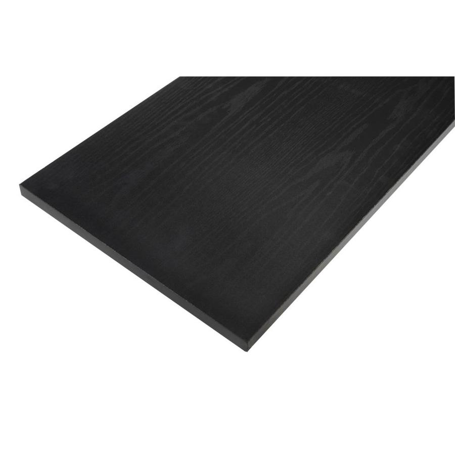 Rubbermaid Laminate 11.8-in W x 35.8-in L x 0.625-in D Black Oak Shelf Board