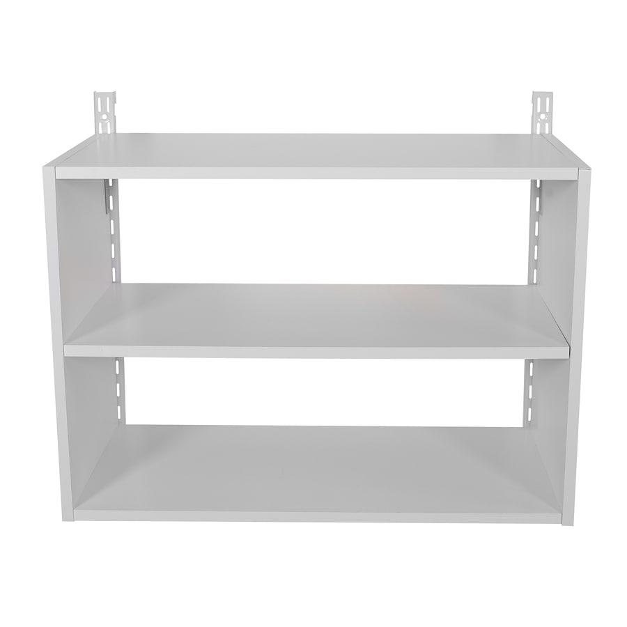 Rubbermaid HomeFree White Wood 3-Shelf Unit