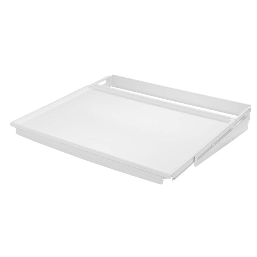 Rubbermaid FastTrack White Plastic Sliding Shelf