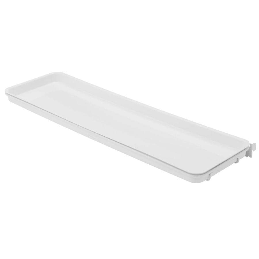 Rubbermaid FastTrack White Plastic Quick Shelf