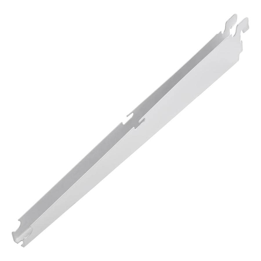 Rubbermaid FastTrack White Shelving Bracket (Common: 0.7-in x 2-in x 12-in; Actual: 0.7-in x 2-in x 12.9-in)