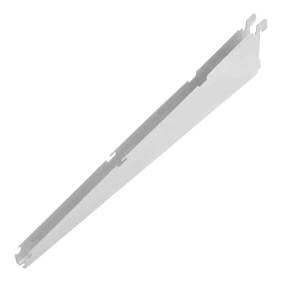 Lowes wire shelving systems for closets - Rubbermaid Fasttrack White Shelving Bracket Common 0 7 In X 4 75 In X