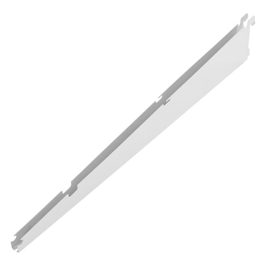 Rubbermaid FastTrack White Shelving Bracket (Common: 0.7-in x 4.75-in x 20-in; Actual: 0.7-in x 4.75-in x 20.9-in)