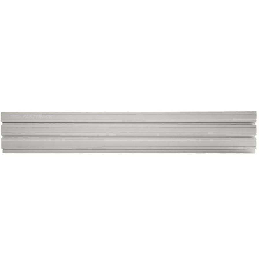 Rubbermaid Fasttrack Garage 1 Piece Gray Wall Panel At