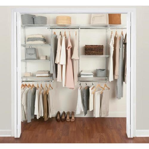 NEW Rubbermaid Fasttrack Closet 2 Tiered Organizer Shelves