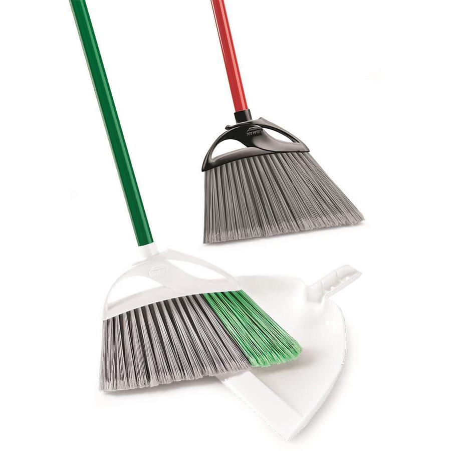 Libman 13.75-in Poly Fiber Upright Broom