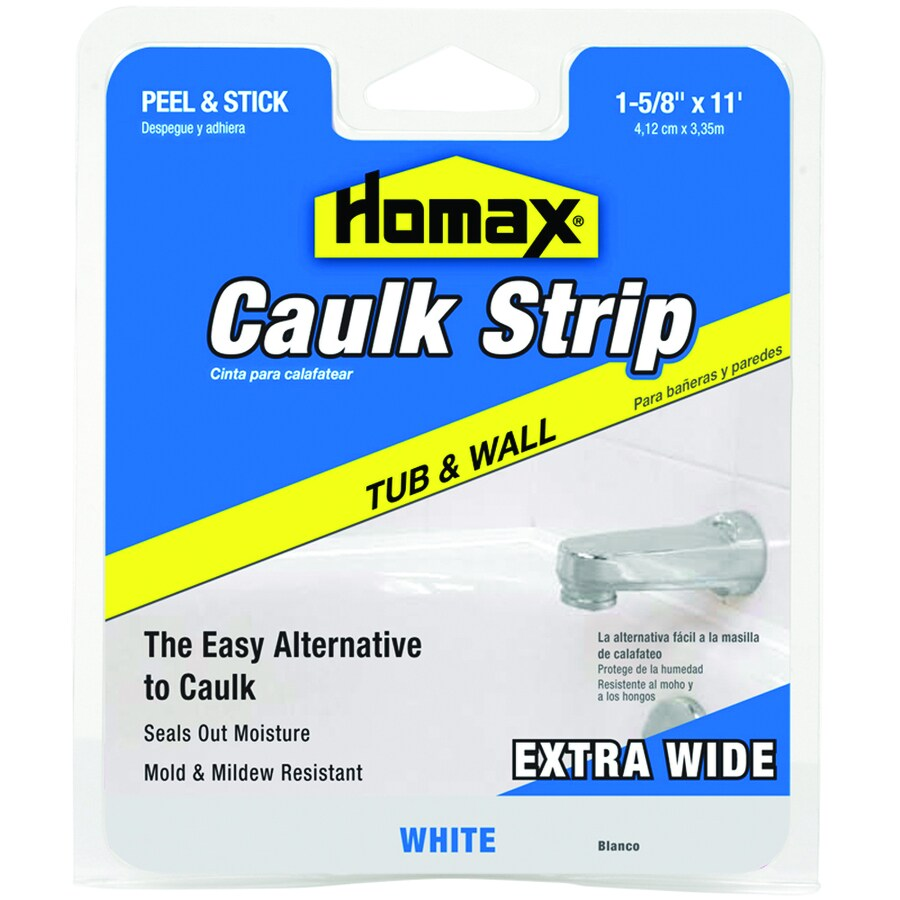 Homax Tubs and Floors Caulk Strip