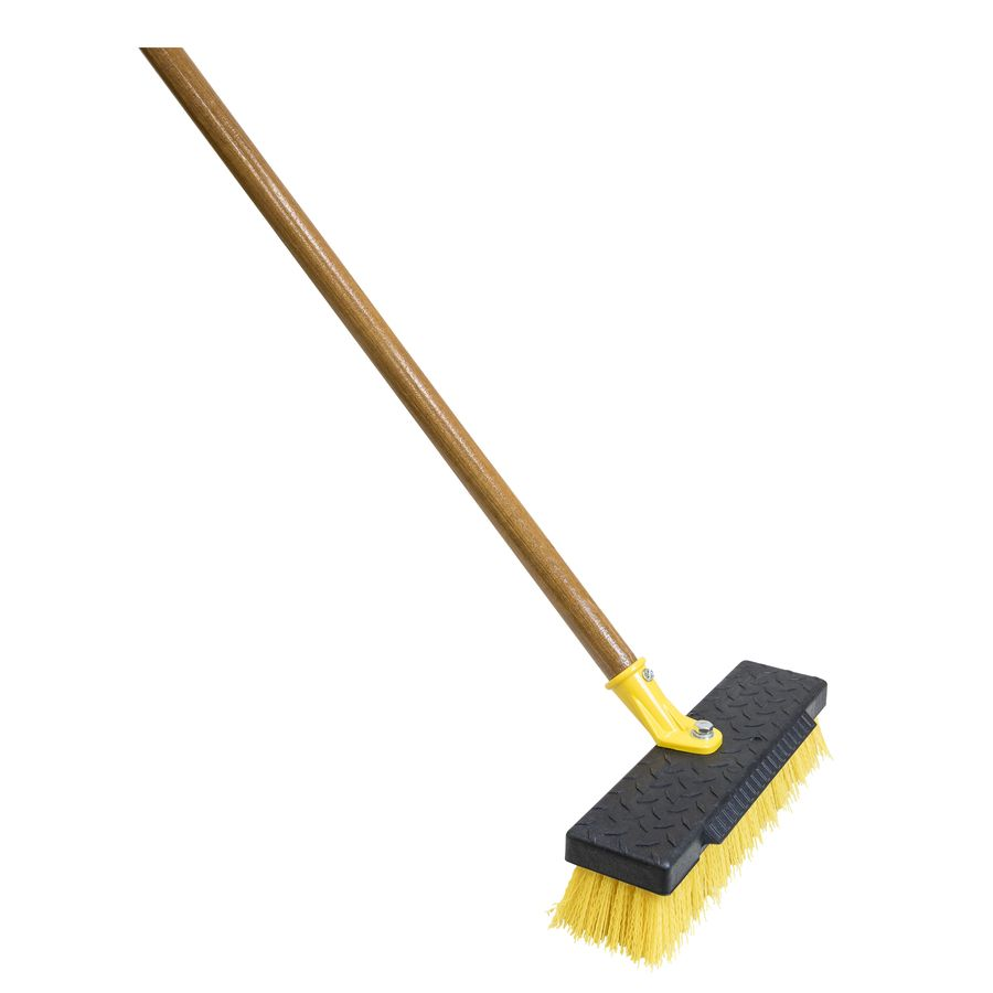 Quickie BULLDOZER 12-in Poly Fiber Stiff Deck Brush