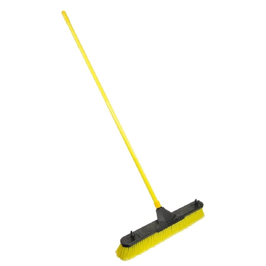 Quickie BULLDOZER 24-in Poly Fiber Stiff Push Broom
