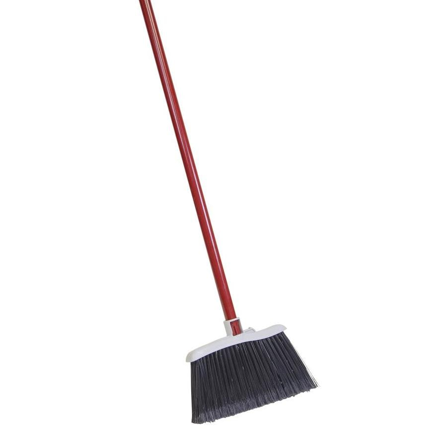 Quickie - Clean Results 11.5-in Poly Fiber Stiff Upright Broom