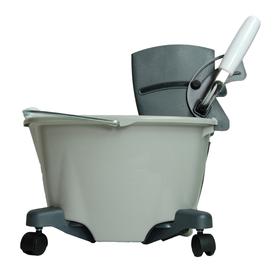 Quickie - Home Pro 5-Gallon Commercial Mop Wringer Bucket with Wheels
