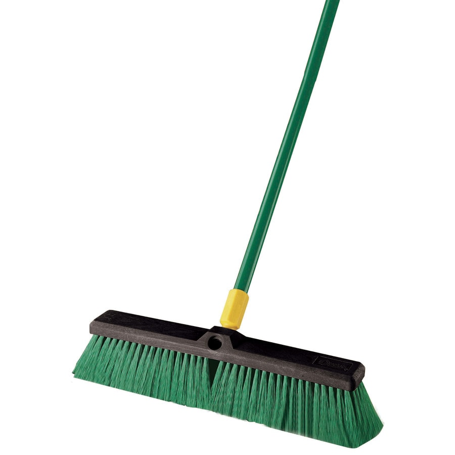 Quickie Poly Fiber Stiff Push Broom
