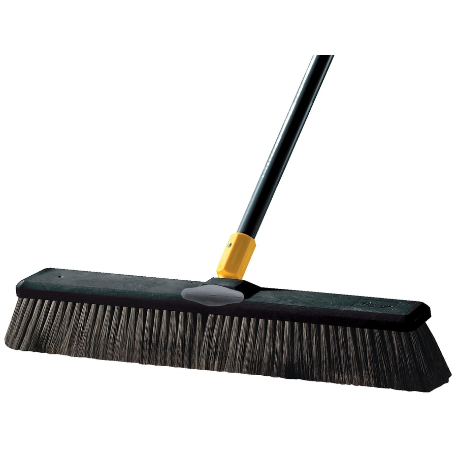 Quickie - Tuff Sweep Poly Fiber Soft Push Broom
