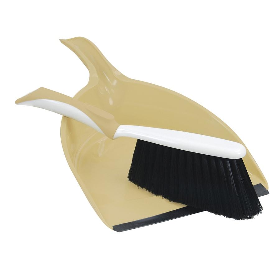 Quickie - Peabody & Paisley Plastic Handheld Dustpan with Brush