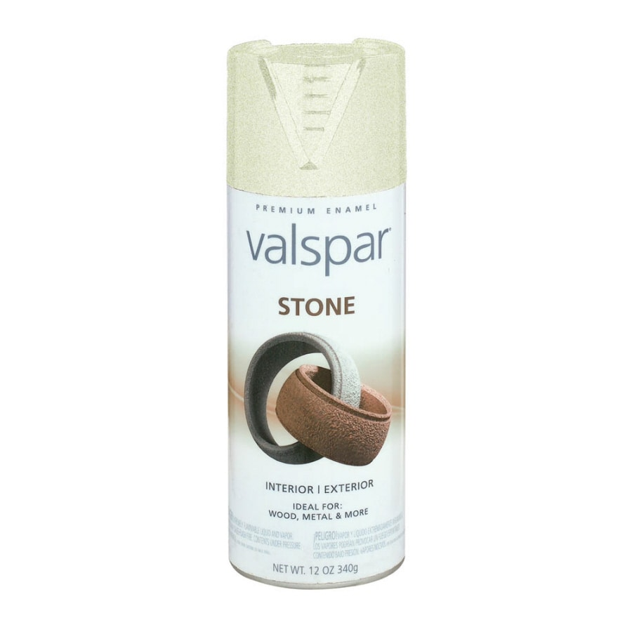 Shop Valspar Alabaster Stone Sandstone Spray Paint Actual Net Contents 12 Oz At Lowes Com
