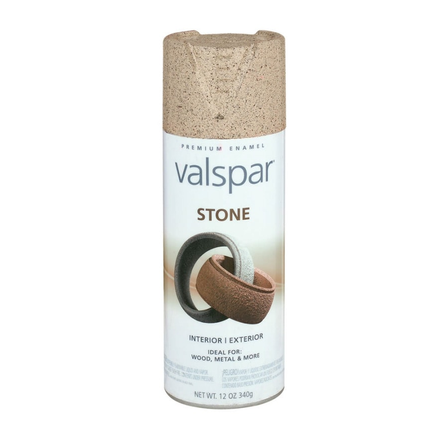 Shop Valspar Santa Fe Sand Stone IndoorOutdoor Spray Paint at Lowescom