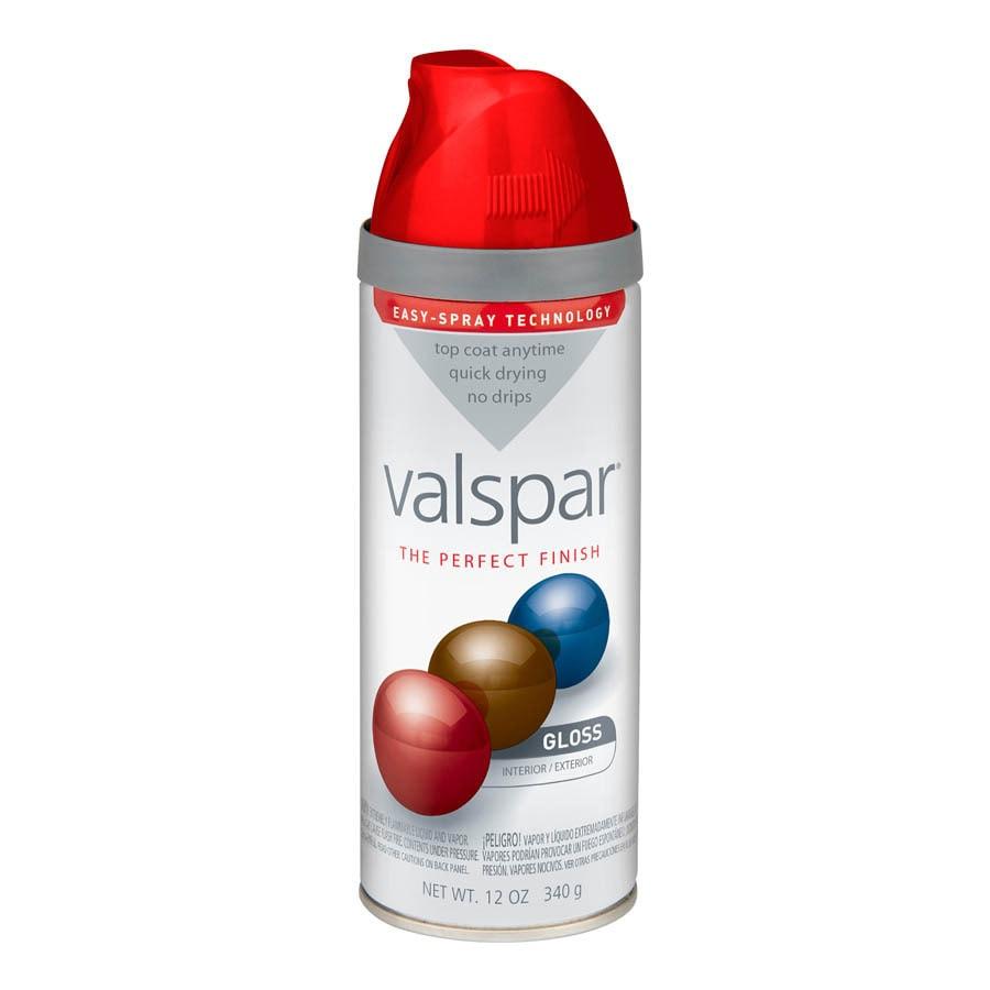 Valspar Classic Red Enamel Spray Paint (Actual Net Contents: 12-oz)