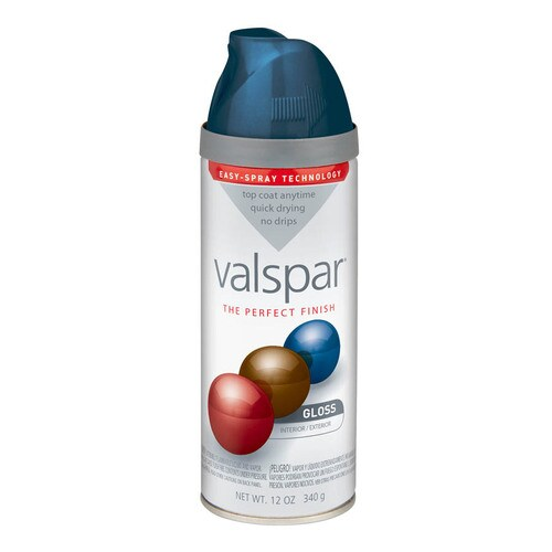 Valspar High Gloss Indigo Cloth Spray Paint And Primer In One Actual Net Contents 12 Oz In The Spray Paint Department At Lowes Com
